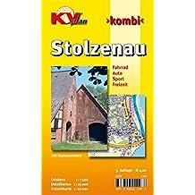 Stolzenau: 1:12.500 Gemeindeplan und Freizeitkarte 1:25.000 inkl. Radrouten der Region und einer Ortskernkarte in 1:7.500 (KVplan Mittelweser-Region / http://www.kv-plan.de/Mittelweser.html)
