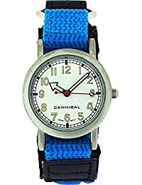 Cannibal CK002–05Clock, Blue Fabric Strap
