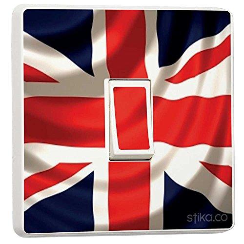 Union Jack Flag UK Aufkleber für Lichtschalter,