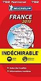 Carte France 2015 Indéchirable Michelin