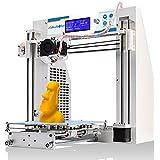 JGAURORA Imprimante 3D Imprimante 3D de bureau Imprimantes 3D Monture en métal d'assemblage Prusa i3 kit ABS PLA filament 1.75mm …