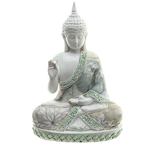 Decorativo floral sabiduría de Buda figura decorativa