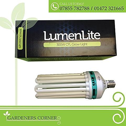 Coltivazione idroponica spettro rosso CFL Compact Fuorescent illuminazione Grow Fiore Luce Lampadina
