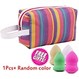 EYX Formula Waterproof Rainbow Handle Bag Cosmeic Bag Wash Bag