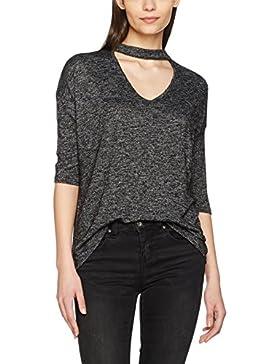 New Look Damen T-Shirts Cut & Sew Chocker