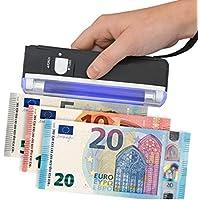 FAST WORLD SHOPPING Detector billetes falsos portátil lámpara Neon UV bolsillo monedero Falsi