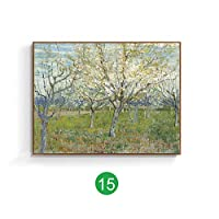 Van Gogh world famous painting European decorative painting ink painting landscape oil painting living room American mural