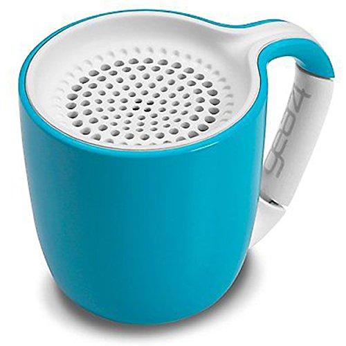 Gear4 Espresso Cup Portable Sans fil Universal 3.0 Haut-parleur Bluetooth (Cyan)