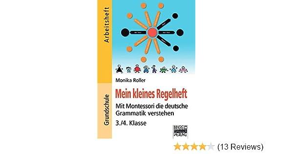 Brigg: Deutsch - Grundschule - Montessori-Materialien: Mein kleines ...