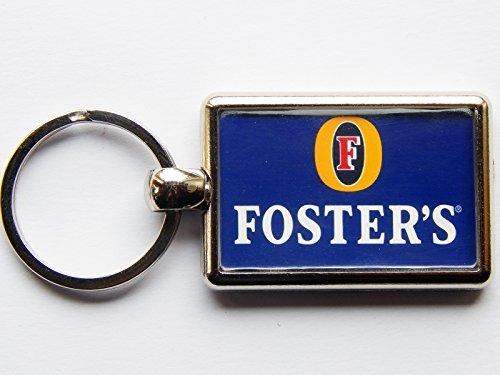 fosters-portachiavi-cromato-con-etichetta-alta-qualita-immagine-su-entrambi-i-lati
