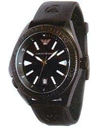 319fa04b7779 Armani correa de reloj AR-0549 Goma Negro 23mm(Sólo reloj correa - RELOJ