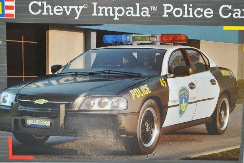 Revell Chevrolet Chevy Impala Police Car Polizei 07068 Bausatz Kit 1/25 1/24 Modell Auto - Impala Chevy Auto Modell