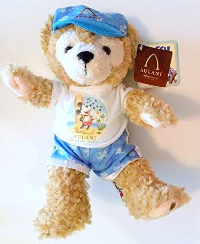 Exclusive-Disney-Aulani-Resort-Hawaii-Duffy-The-Bear-Aloha-Spirit-Plush-12-Stuffed-Toy-by-Disney
