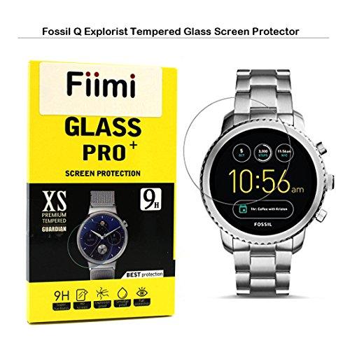 a93c67105f03 Fiimi Fossil Q Explorist Screen Protector - Fiimi Tempered Glass Screen  Protectors For Fossil Q Explorist