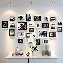 Marco en la pared 5710pulgadas como un buzón Combinación fotos Creative Continental Foto pared niños Fotos Balancín escritorio Combinación de negros y blancos Combinación
