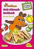 Pixi kreativ 64: Die Maus: Mein Mitmach-Kochbuch: Bunte Snacks: Kochen, Backen und Rätseln für Kinder