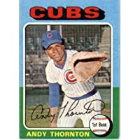 1975 Topps #39 Andy Thornton Chicago Cubs Baseball Card In Protective Screwdown Display Case