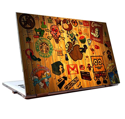 Tamatina Laptop Skins 15 6 Inch Wooden Stickers Dell Lenovo