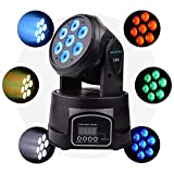 BETOPPER(LM70) moving heads bühnen beleuchtung mini spot led licht dj party disco professionell dmx512 9/16 kanal 7x8w LEDs rgbw musik bar beleuchtung