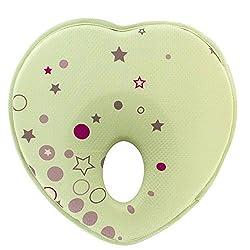Little Sporter Babykissen Baby Kopfkissen Kinderkissen Kopfverformung Und Plattkopf Kopfform Positioner Hals Unterstützung Memory Schaum Baby Kissen Für Säugling Grün