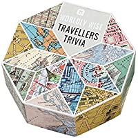 Talking Tables Worldly Wise Trivia Box for Party, Celebrations and Gifts