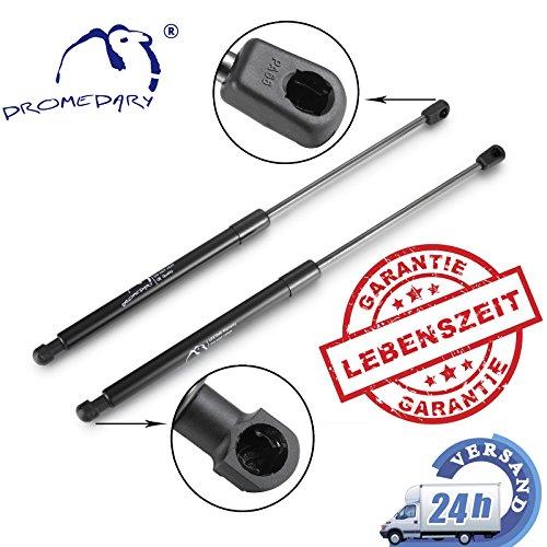 2 x 495mm Dromedary 5J6827550 Gasfeder Heckklappe Kofferraum Gasdämpfer Gasdruckfeder