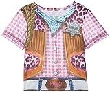 Rubie's 2630864L Cowgirl T-Shirt Child, Kostüm für Kinder, L