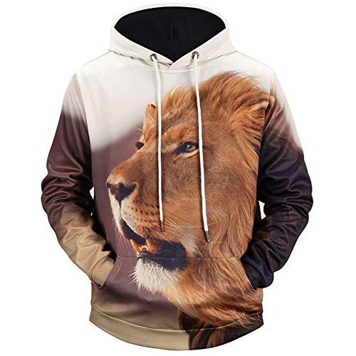 AASSDD Sportsweatshirts Männer Mit Kapuze Langärmelig Bedruckte 3D-Paar Kleidung Männer/Frauen Hemd Mit Kapuze Sweatshirts
