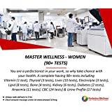 Hindustan Wellness Master Wellness - Women Full Body Checkup (90 Tests) (Voucher Code delivered through email in 2 hours after order confirmation)