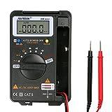 Autool Automatische messbereichseinstellung 4000 zählt Mini Pocket Digital Multimeter Voltmeter Amperemeter Tester Widerstand Ohm Volt Amp Meter CATII