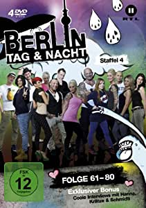 Berlin - Tag & Nacht - Staffel 04 (Folge 61-80) (4 Discs, Limited Fan Edition)
