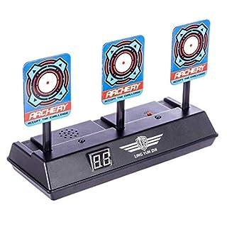 Topways® Zielscheibe für Nerf , Elektro Automatische Wiederherstellung Schießscheiben Pistole Bullet Shooting Target für Nerf Pfeile Guns N-Strike Elite / Mega / Rival-Serie