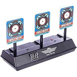 Topways® Target pour Nerf , Électronique Réinitialisation Automatique Prise de Vue Scoring Cible Jouet pour Nerf Pfeile N-Strike Elite/Mega/Rival Series