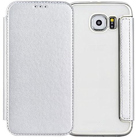 For Samsung Galaxy S6 Case, Yokata Wallet Premium Elegant Front