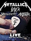 Metallica/Slayer/Megadeth/Anthrax : The Big 4 - Live from Sofia, Bulgaria (5 CD/2 DVD Set) by Metallica