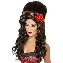 Smiffys - peluca para disfraz de cantante en rehab de mujer (adulto)