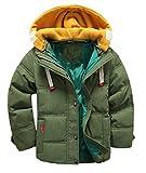 Scothen Niños abajo chaquetas Chaqueta de invierno con capucha desmontable para niños niñas Niños chaleco chaleco chaquetas de abrigo otoño invierno abrigo parka prendas de vestir exteriores ropa