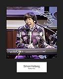 The Big Bang Theory–Simon Helberg (begriffsklärung) # 2, signiert, 10x 8drucken