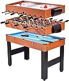 YUHT Biliardo da Tavolo Multifunzionale da Tavolo da Gioco, Tavolo Multifunzionale 3 in 1, Biliardino da Tavolo da Hockey da Tavolo Giochi al Coperto, Giochi di società