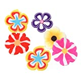 Sadingo Polymer Clay Scheiben, Nail Art - Fimo - Motive Blüten in Box - Nageldesign