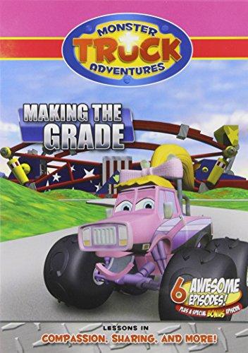DVD - Monster Truck Adventures: Making The Grade/Right Turn Races-2 - Monster-truck-dvd