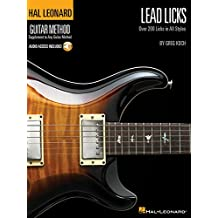 Lead Licks: Over 200 Licks in All Styles + Cd