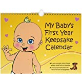 My Baby's First Year Keepsake - Annual Memory Book. The perfect gift idea for baby shower and gift baskets.
