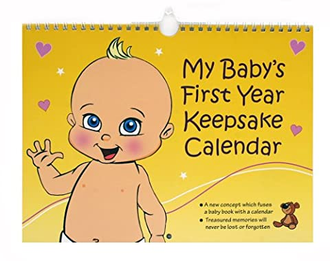 My Baby's First Year Keepsake - Annual Memory Book. The