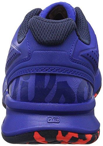 65ed24d0cd5b3 Wilson Kaos Comp W Amparo Blu Surf the W Fier, Chaussures de Tennis Femme  Bleu Amparo Blue surf The Web fiery Cora Prix Boutique