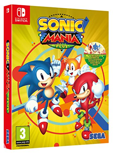 Sonic Mania Plus (precio: 29,90€)