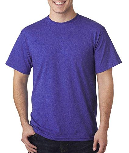 Fruit of the Loom Herren T-Shirt Retro Hth Purp