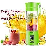 TYARA Plastic Portable USB Electric Blender Juice Cup(Multicolour)