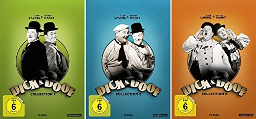 Dick & Doof Collection - Box 1+2+3 im Set - Deutsche Originalware [30 DVDs]