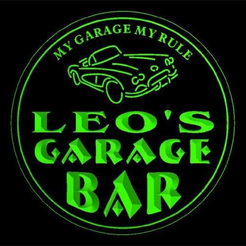 4x-ccpp0168-g-leos-garage-basement-bar-beer-3d-coasters